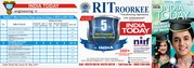 BEST COLLEGE OF THE UTTARAKHAND RIT ROORKEE