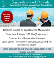 1 Month Certified Course on Construction Management