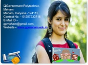Top 10 government Polytechnic college in Haryana