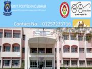 Best government polytechnic college in Bahadurgarh