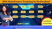 IBM Mainframes Training in Hyderabad