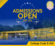 Admissions Open 2018 -2019