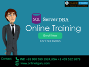 Sql Server dba Online Course