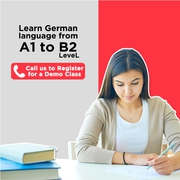 Learn A1,  A2,  B1,  B2 German language from the expert teachers in Delhi