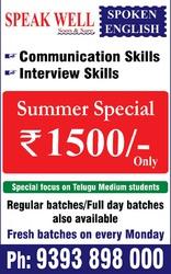 Spoken English Summer Special offer