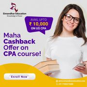Maha Cashback Offer on US CPA course Upto ₹10, 000. | US CPA Course