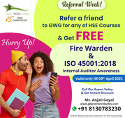 Referral Week Offer On HSE Courses