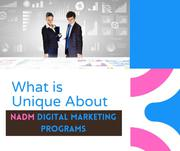 What is Unique About NADM Digital Marketing Programs?