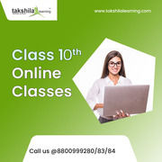 Class 10 Online Classes - Online Tuition Classes  for CBSE Class 10